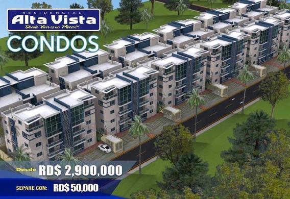Vendo Apartamentos En Residencial Alta Vista Condos