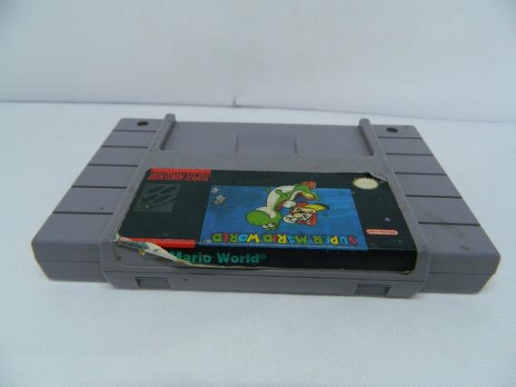 Super Mario World Original P/ Super Nintendo - Salvando