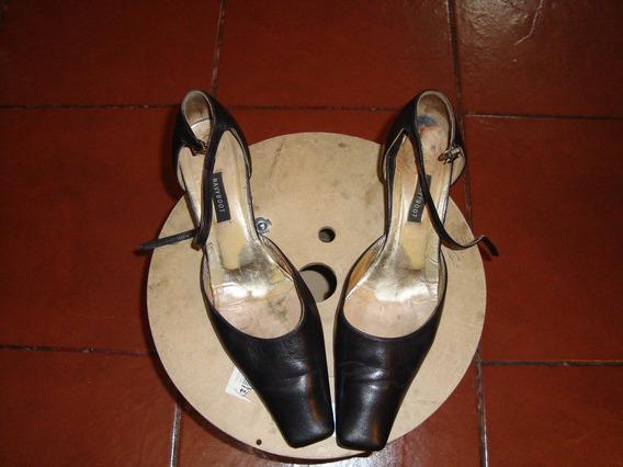 Zapato Naviboot Cuero Negro Talla 40
