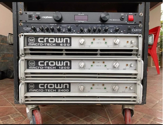 Equipos Crown Soundcraft Ashly Dbx Rcf
