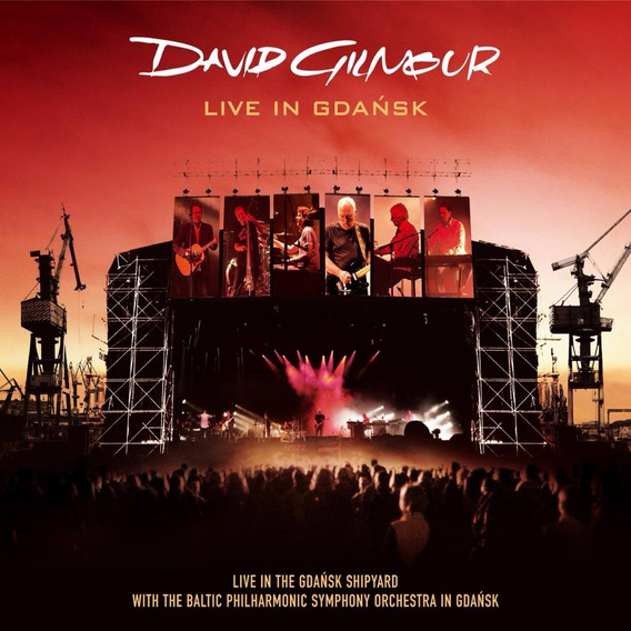 Cd David Gilmour- Live In Gdansk(duplo)
