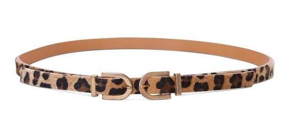 Cinturon Dama Animal Print Devendi