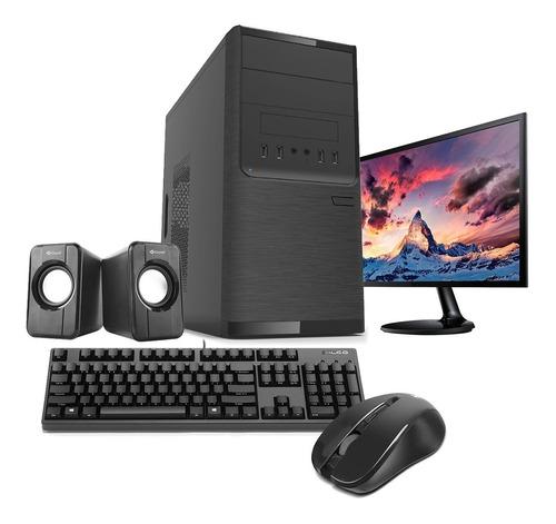 Imagen 1 de 5 de Pc Armada Intel I5 10400f Ram 8gb Ssd 480gb + Monitor 19!