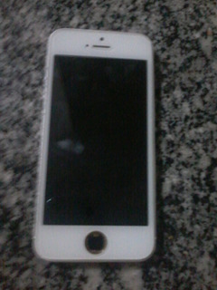 iPhone 5s 16gb Prata Com Defeito