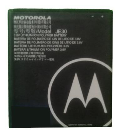 Bateria Motorola E5 Play Je30 2120 Mah 100% Nueva