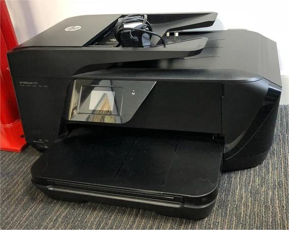 Impressora Hp Officejet 7510 Com Bulkink Com Defeito Leia