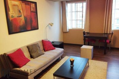 Alquilo Apartamento Amueblado En Piantini De Una Habitacion