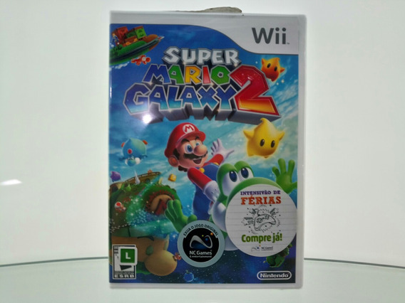 Raro Super Mario Galaxy 2 Wii Black Label Original Lacrado