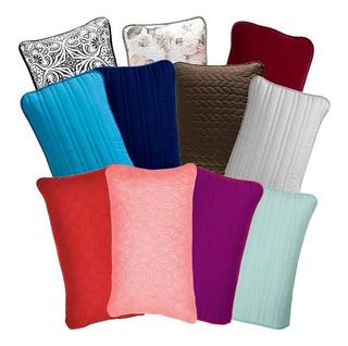 Funda De Almohada Basic Estandar Varios Colores Vianney
