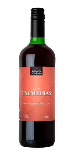 Imagem 1 de 1 de Vinho Rosado Licoroso Doce Niagara 750ml - Palmeiras