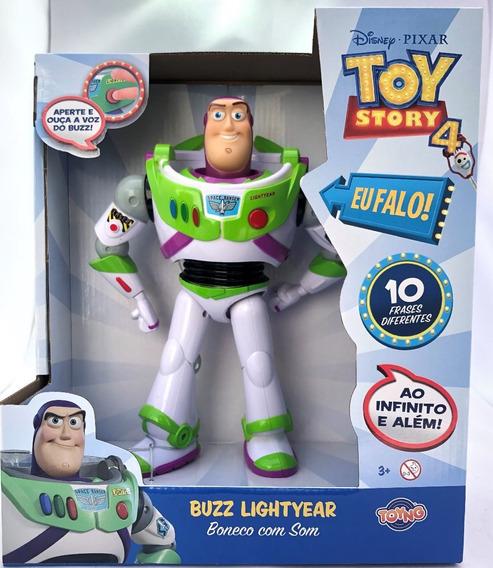 Buzz Lighyear Com Som 10 Falas - Toy Story 4