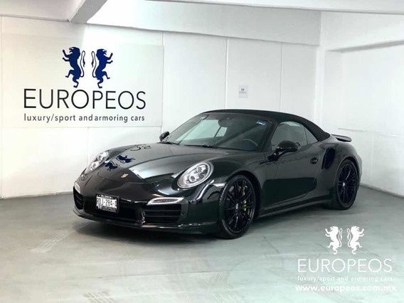 Porsche 911 2015 3.8 Turbo S Cabriolet H6 Awd Pdk At