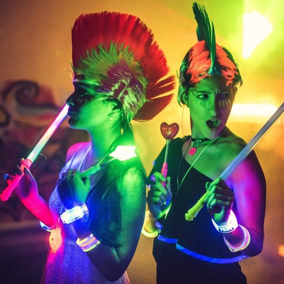 Party 200 Art Combo Cotillon Luminoso Led Neon Fluo Carioca