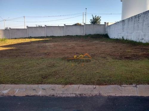 Terreno À Venda, 250 M² Por R$ 180.000,00 - Condomínio Gardenville - Itu/sp - Te0621