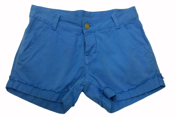 Revanche Short Sarja Azul 32970 Novo Com Tags