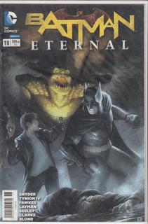 Comic Batman Eternal Numeros Disponibles Carton Y Bolsa Grat