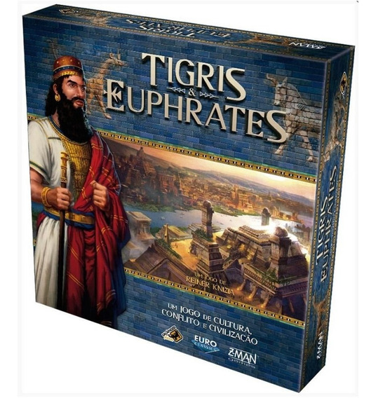 Jogo De Tabuleiro Tigris & Euphrates Galápagos Lacrado Pt-br