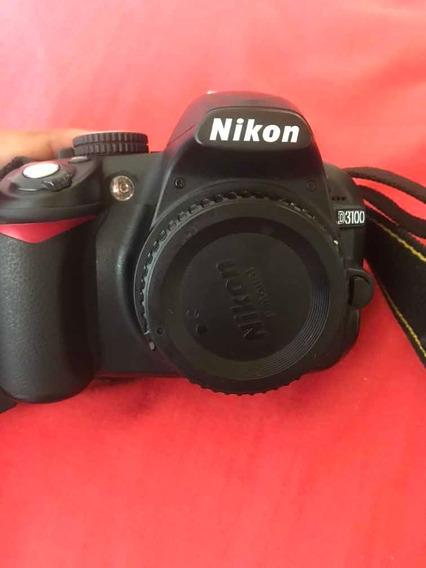 Camera Nikon 3100+lente 18-55