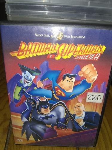 Imagen 1 de 3 de Pelicula Original En Dvd Batman Y Superman Dib.anim. La P