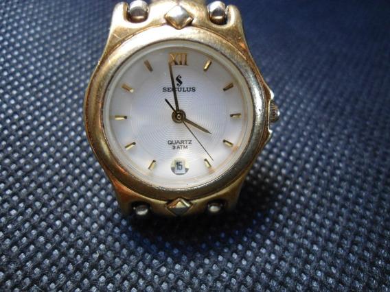 Relógio Seculus Feminino Usado Mas Bem Conservado Como Novo