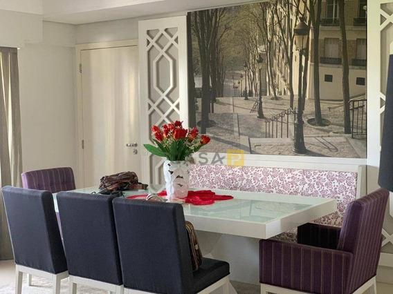 Apartamento Com 2 Dormitórios Para Alugar, 94 M² Por R$ 4.000/mês - Vila Frezzarin - Americana/sp - Ap0405