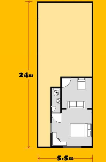 Casa Sencilla 2 Habitacion
