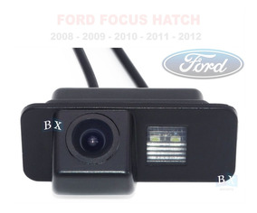 Camera De Ré Específica Ford Focus Hatch 2009 2010 2011 2012
