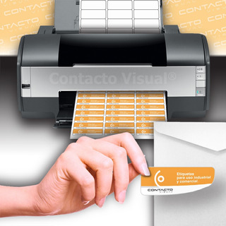 Etiquetas Autoadhesivas Hojas A4 Para Impresoras (100 Hojas)