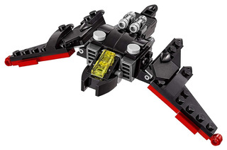 LEGO 30524 The Batman Movie The MINI BATWING Polybag Kit 2 Pack NEW 80 Pieces