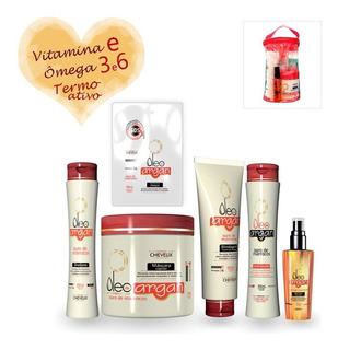 2 Kit De Tratamento Capilar Óleo Argan Cheveux