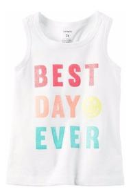 Carter´s Regata Menina - Best Day Ever Em Glitter 235g856