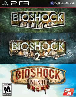 Bioshock 1 + Bioshock 2 + Bioshock Infinite ~ Ps3 Digital