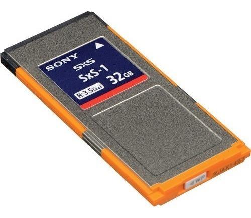 Cartão Sxs 32gb Sony (2 Unidade)cartão Xdcam