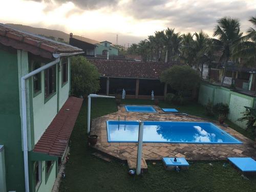 Belíssima Casa Em Itanhaém, 50 Metros Ao Mar - Com 2 Piscinas ( Adulto, Infantil)!!! - Ca0650