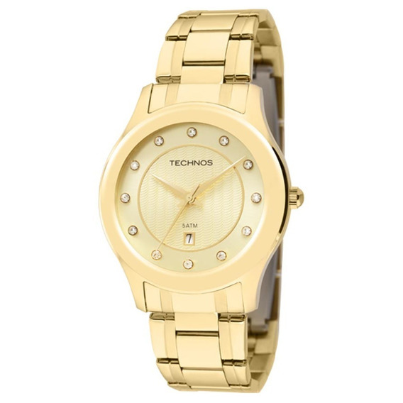 Relógio Technos Feminino Elegance Ladies 2015bzm/4x