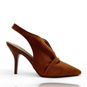 1acf953a44 Sapato Scarpin Beira Rio Caramelo - Sapatos no Mercado Livre Brasil