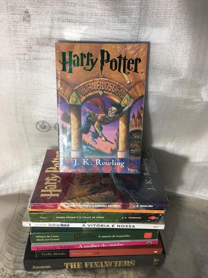 Novo Livro Harry Potter E A Pedra Filosofal Novo Lacrado!