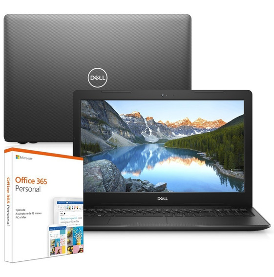 Notebook Dell I15-3583-m4xf Ci5 8gb 256gb Ssd 15.6 Win10