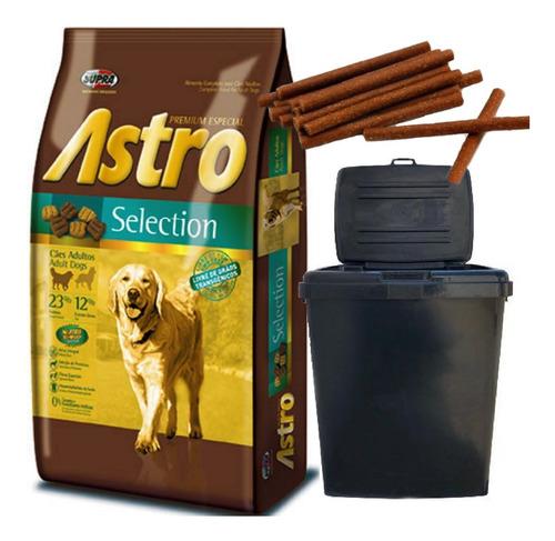 Imagen 1 de 2 de Astro Selection Premium Especial 15 Kg + 2 Kg Con Contenedor