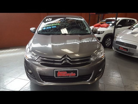 Citroën C4 Lounge 1.6 Thp Exclusive Bva 2015 - Cinza