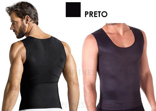 Imagem 1 de 7 de Kit Com 2 Modelador Masculino Melhore Postura Reduza Medidas