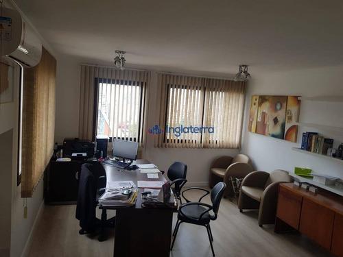 Sala À Venda, 40 M² Por R$ 180.000,00 - Centro - Londrina/pr - Sa0147