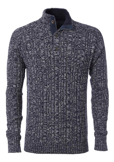 Sweater Hombre Oban Button Azul Royal Robbins By Doite