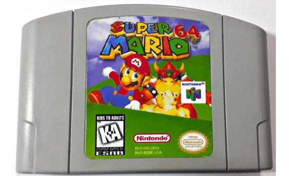Cartucho Super Mario 64 Nintendo 64 Original Frete Grátis