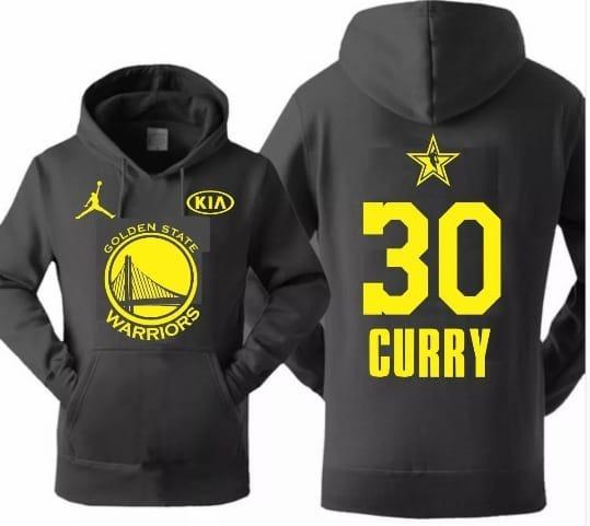 Blusa De Frio Casaco Moletom Golden State Warriors