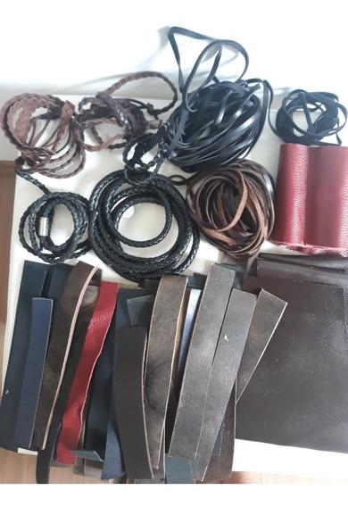 Material Para Fabricação De Pulseira De Couro.