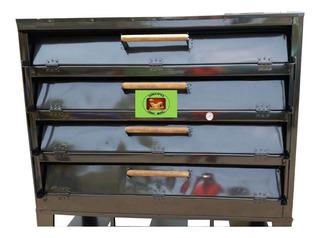 Horno Panadero 12 Charolas Medidas 46/64 4 Puertas H-85