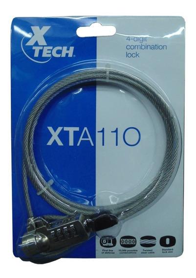 Guaya De Seguridad Para Laptop 2 Metros Xtech Nuevo Sellado