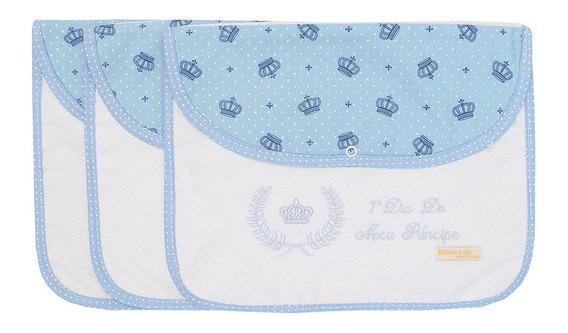 Kit 3 Peças Envelope Organizador Maternidade Para 3 Dias