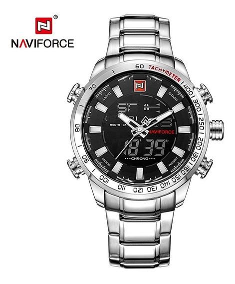 Relógio Masculino Naviforce Nf 9093 Pronta Entrega